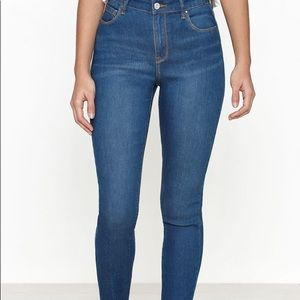 Size 24 super high rise skinny jeans